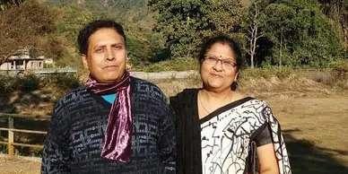 Dr. Prasun Pathak and Dr. Madhumita Pathak