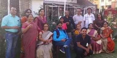 With Ms. Pushpita Sarkar and Faculty Members